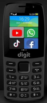 JAZZ DIGIT 4G Pro TOUCH & TYPE (4GB + 512MB)