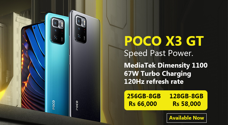 POCO X3 GT 5G