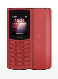 Nokia 105 4G Without Camera (Red 48MB + 128MB)