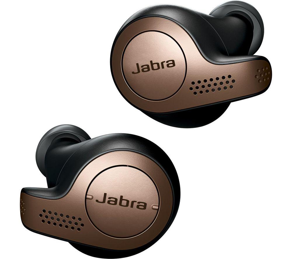 Jabra Elite 65t True Wireless Earbud (Copper Black)