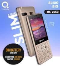 Q Mobile SL100 Big (Slim Sleek)