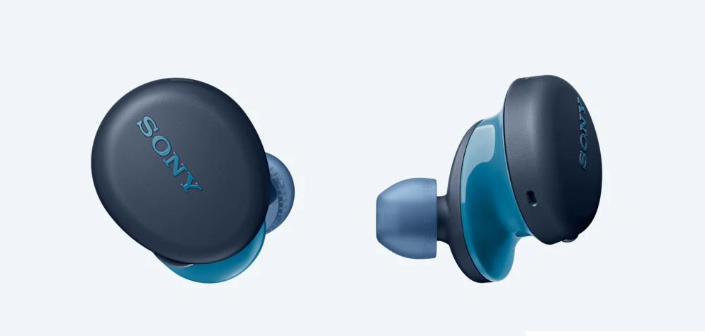 Sony WF-XB700 Wireless Headphones with EXTRA BASS (Blue)