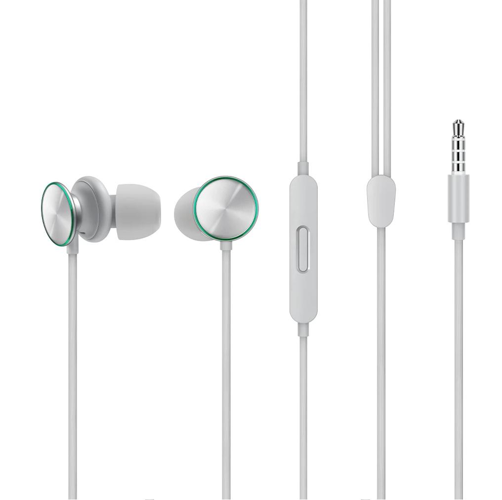 OPPO MH151 O-Fresh Stereo Earphones (Black)