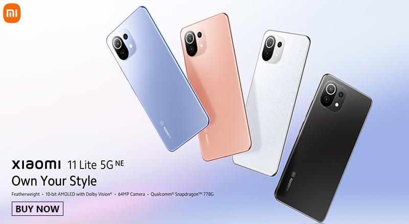 Xiaomi 11 Lite 5G NE 800x440